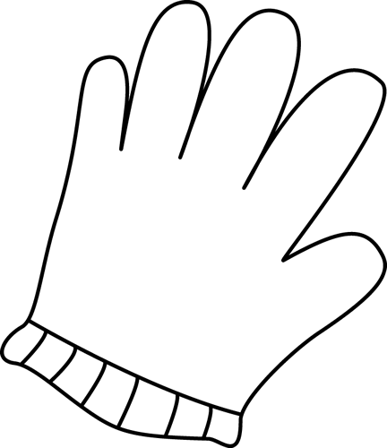 Finger clipart white glove. Black and clip art