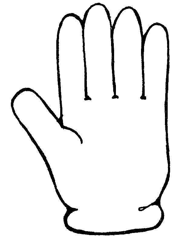 Finger clipart white glove. Gloves
