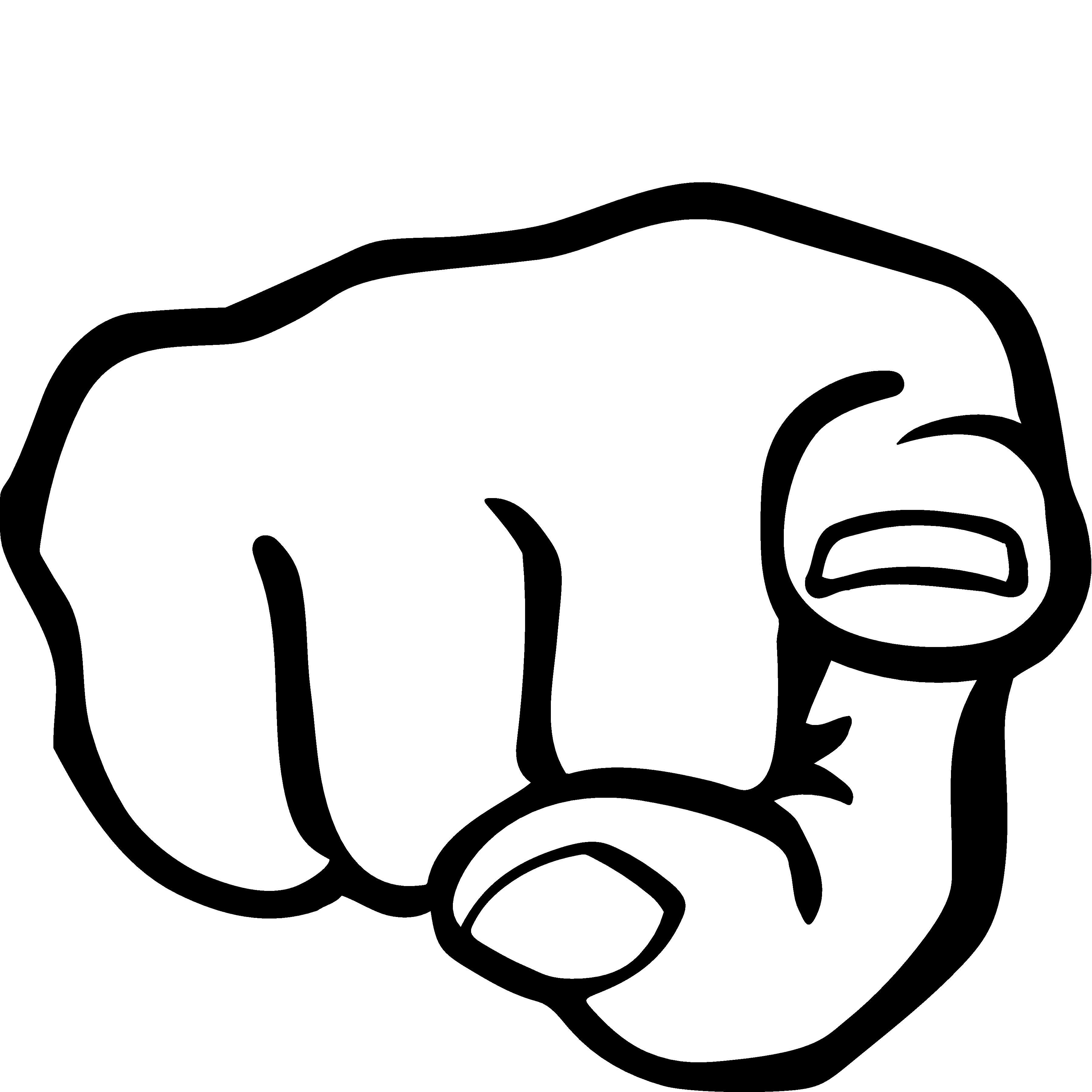 Finger clipart. Pointing panda free images