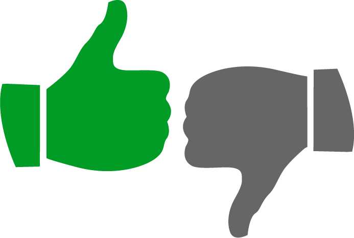 green thumbs up icon png