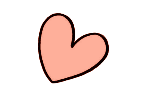 Image about cute in. Tumblr heart png picture black and white