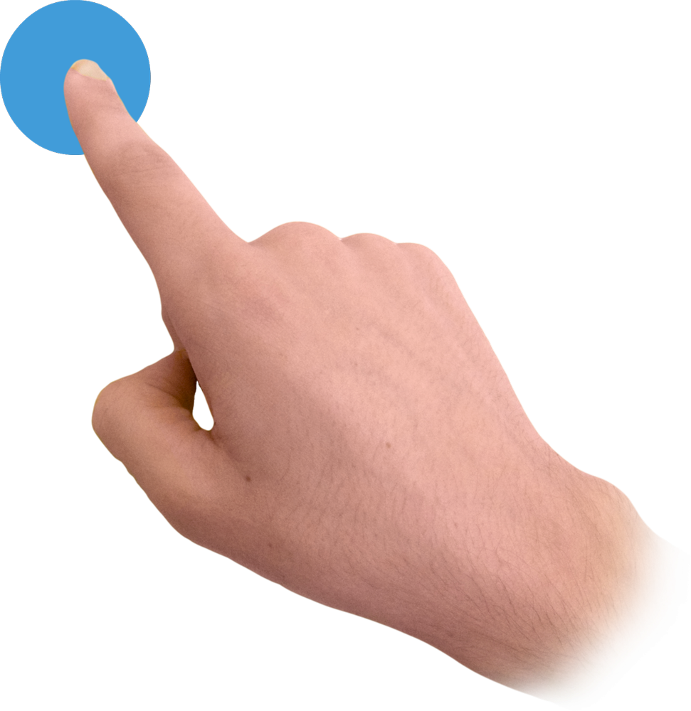 Finger png. Touch image free icons