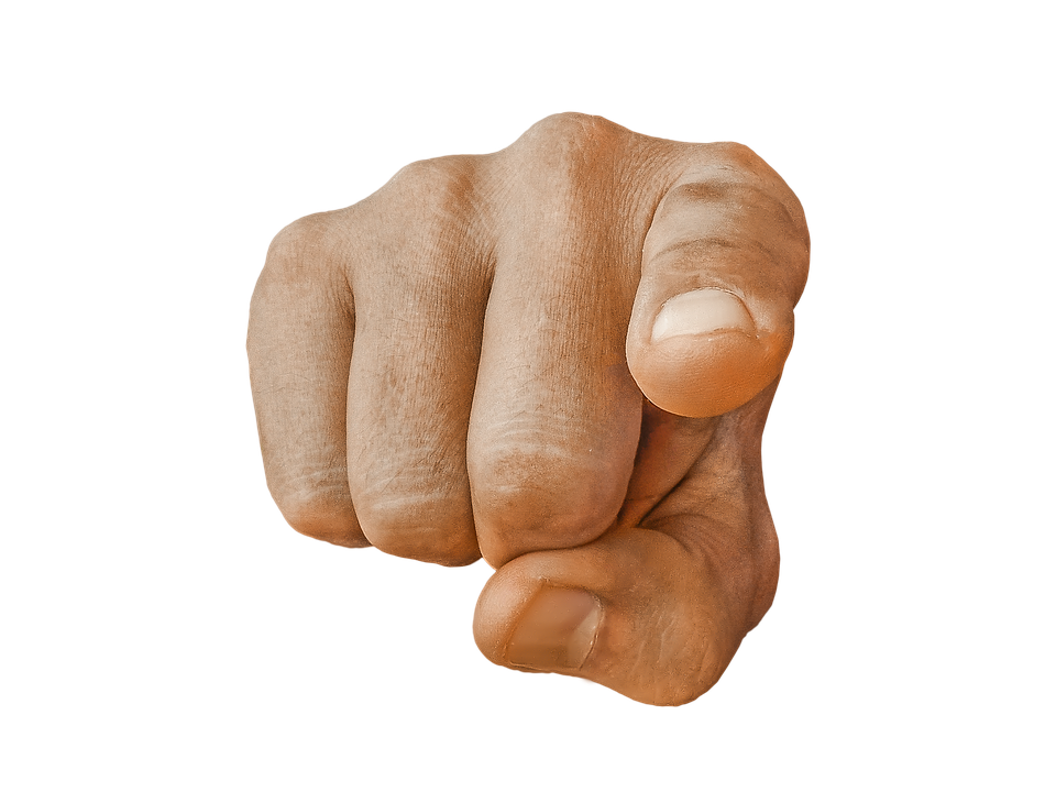 Finger pointing at screen png. You transparent hand direction