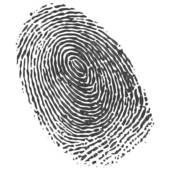 Fingerprint clipart clip art. Sweet looking of k