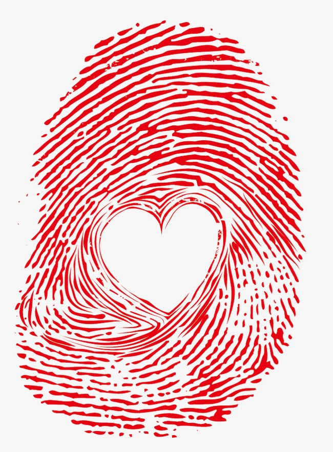 Fingerprint clipart high re. Love png image and