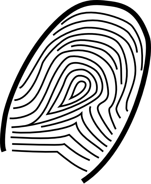 Fingerprint svg large. Clip art at clker