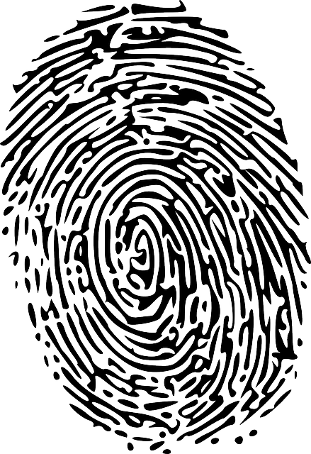 Fingerprint transparent left thumb. Free image on pixabay