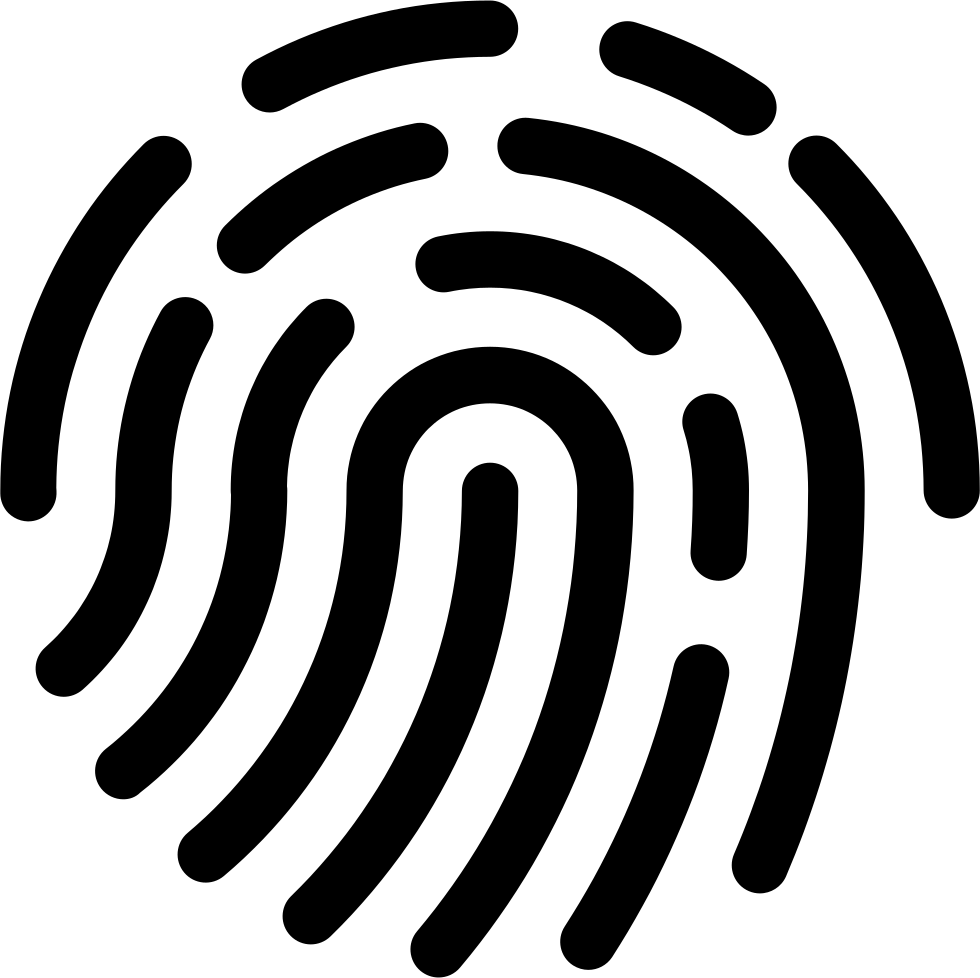Fingerprint svg. Augic icon png free