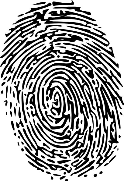 fingerprint svg cartoon