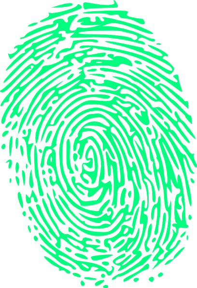 Fingerprint transparent rainbow. Banner royalty free