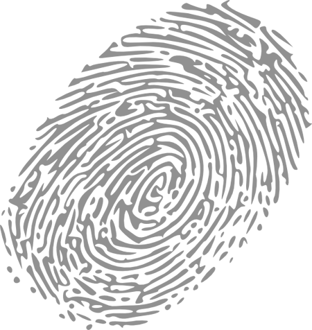 Png image with background. Fingerprint transparent white graphic library