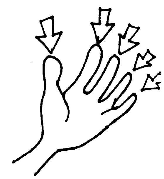 Fingers clipart. Clipground