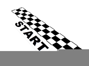 Finish clipart line clipart. Free flag images at