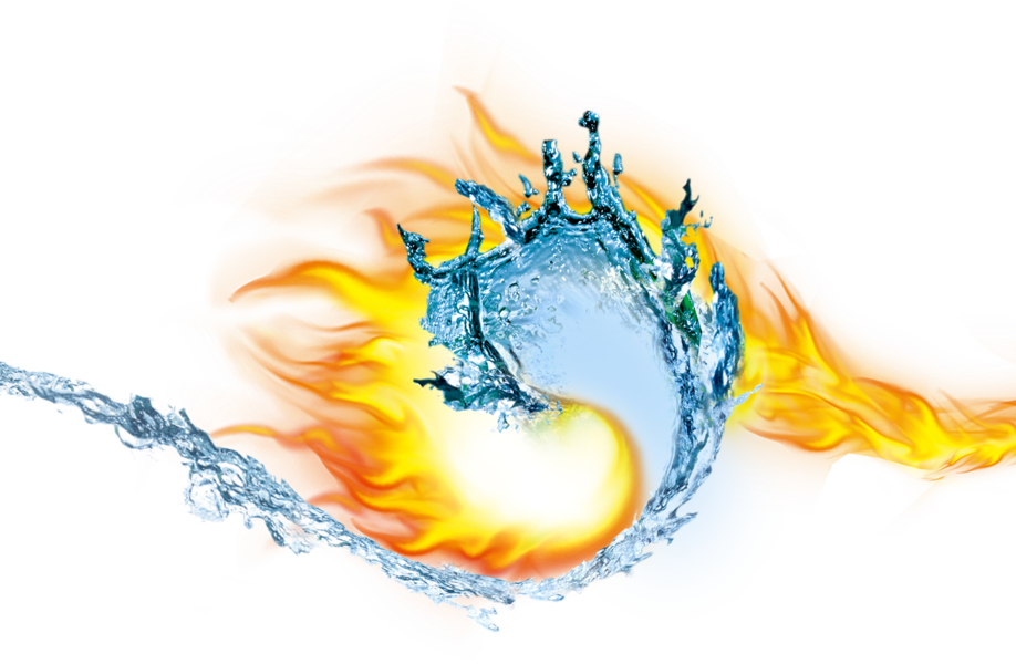 Fire and ice png. Hot psd official psds