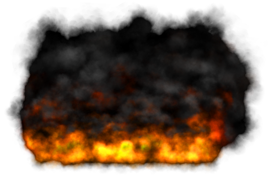 Fire and smoke png. Hd mart