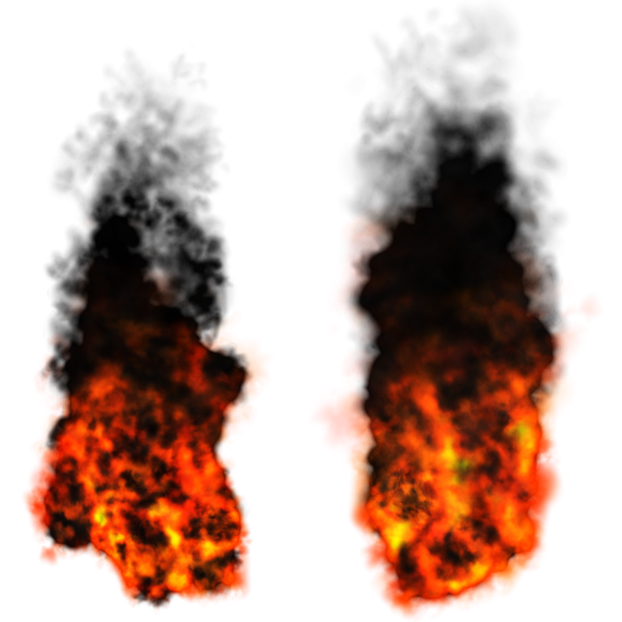 Fire and smoke png. Free download arts