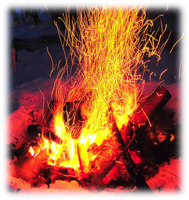 Fire ashes png. In the snow minnesota