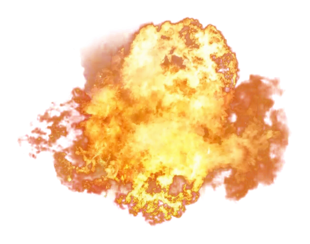 Fire blast png. Explosion image purepng free