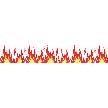 Fire border png. Speed zone graphic by