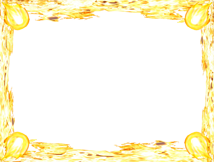 Fire border png. Free simple flames transparent