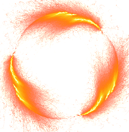 Fire circle png. Free distressed vector psd