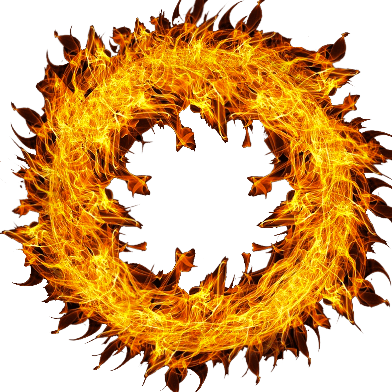 Fire circle png. Wheel of transparent stickpng
