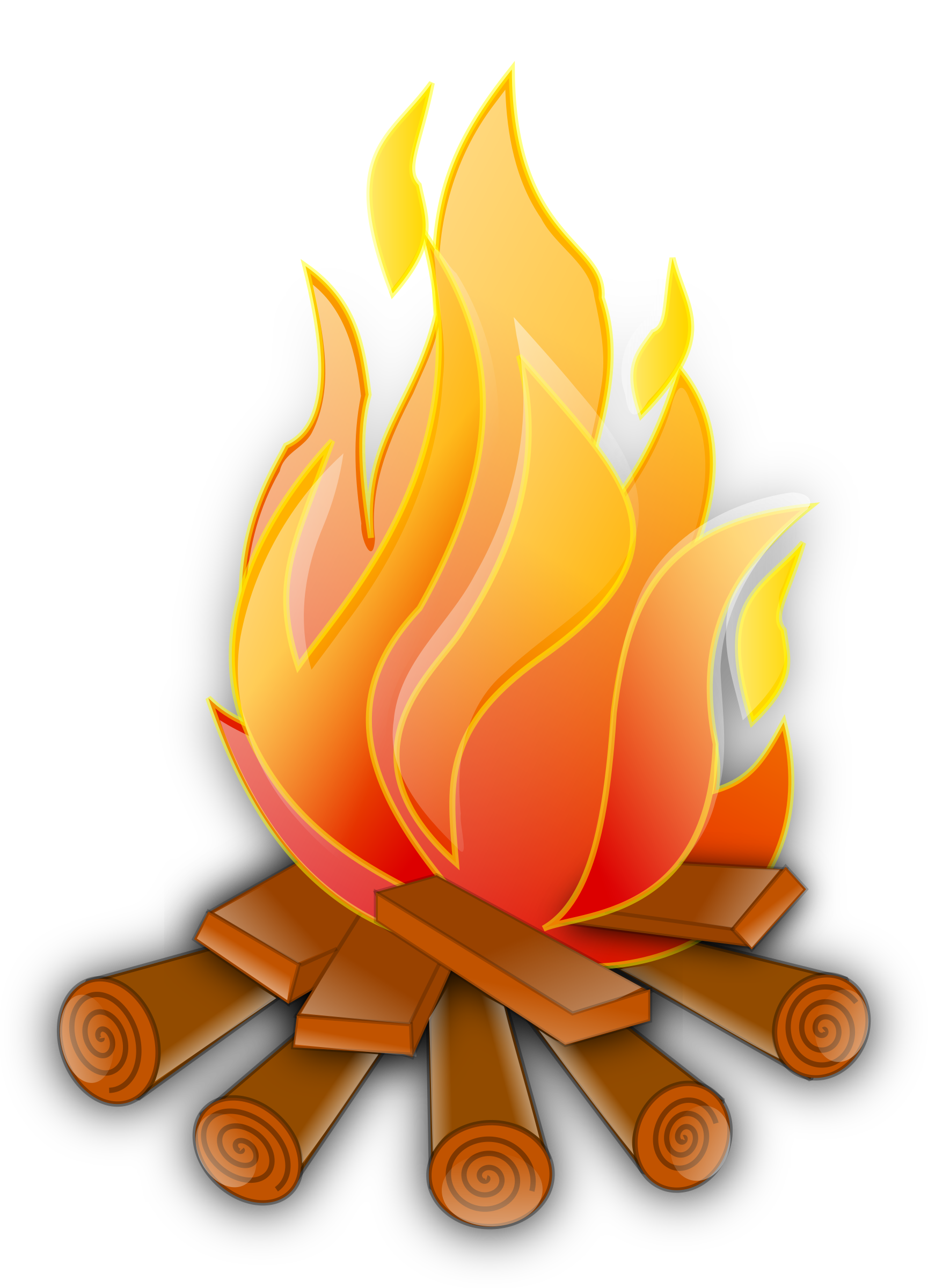 Fire clip animated. Flames clipart cute borders