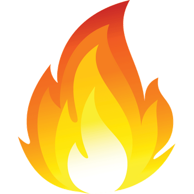 Fire clip art png. Cartoon flames emoji transparent