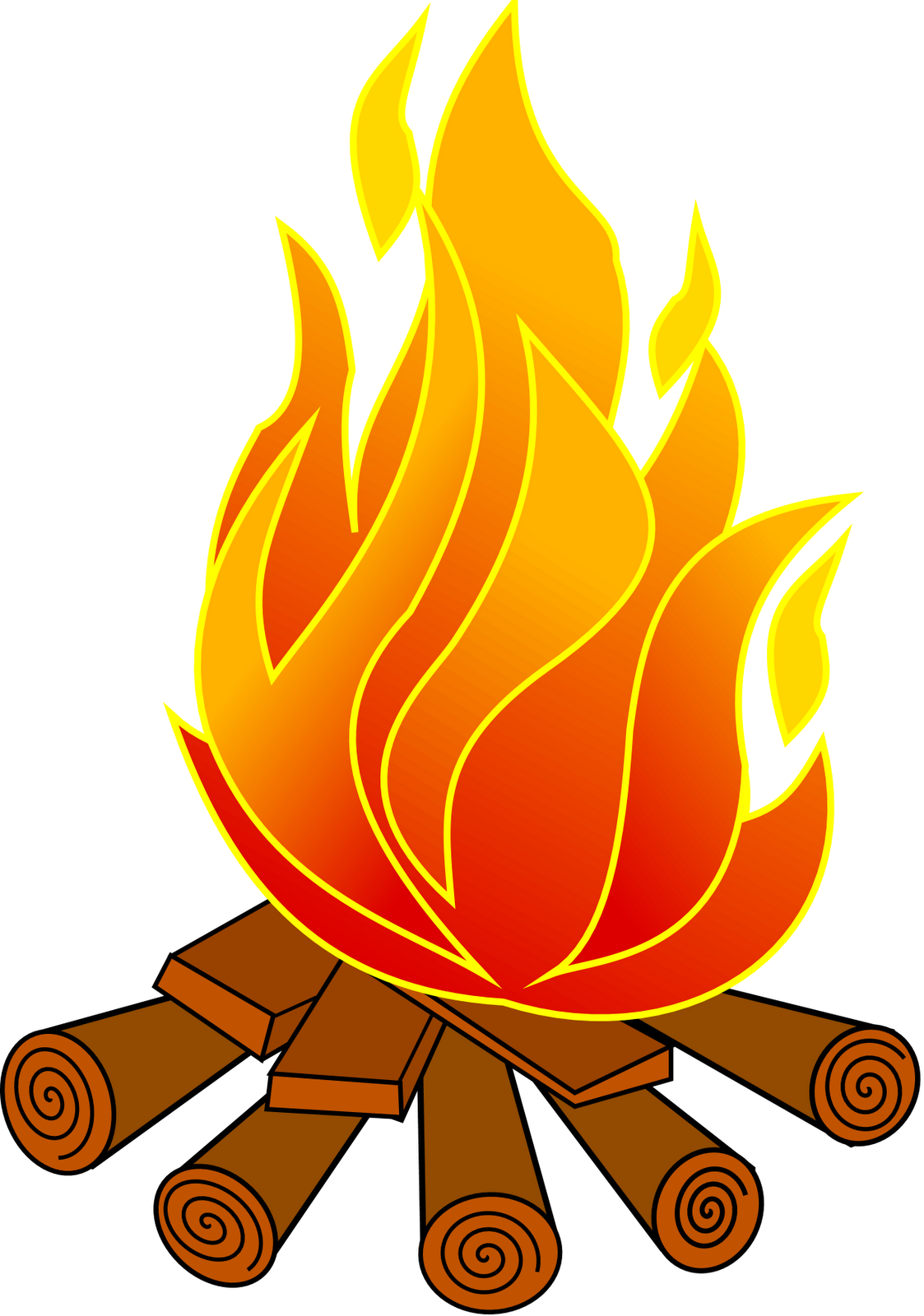 Fire clip camping. Campfire planning campfires and