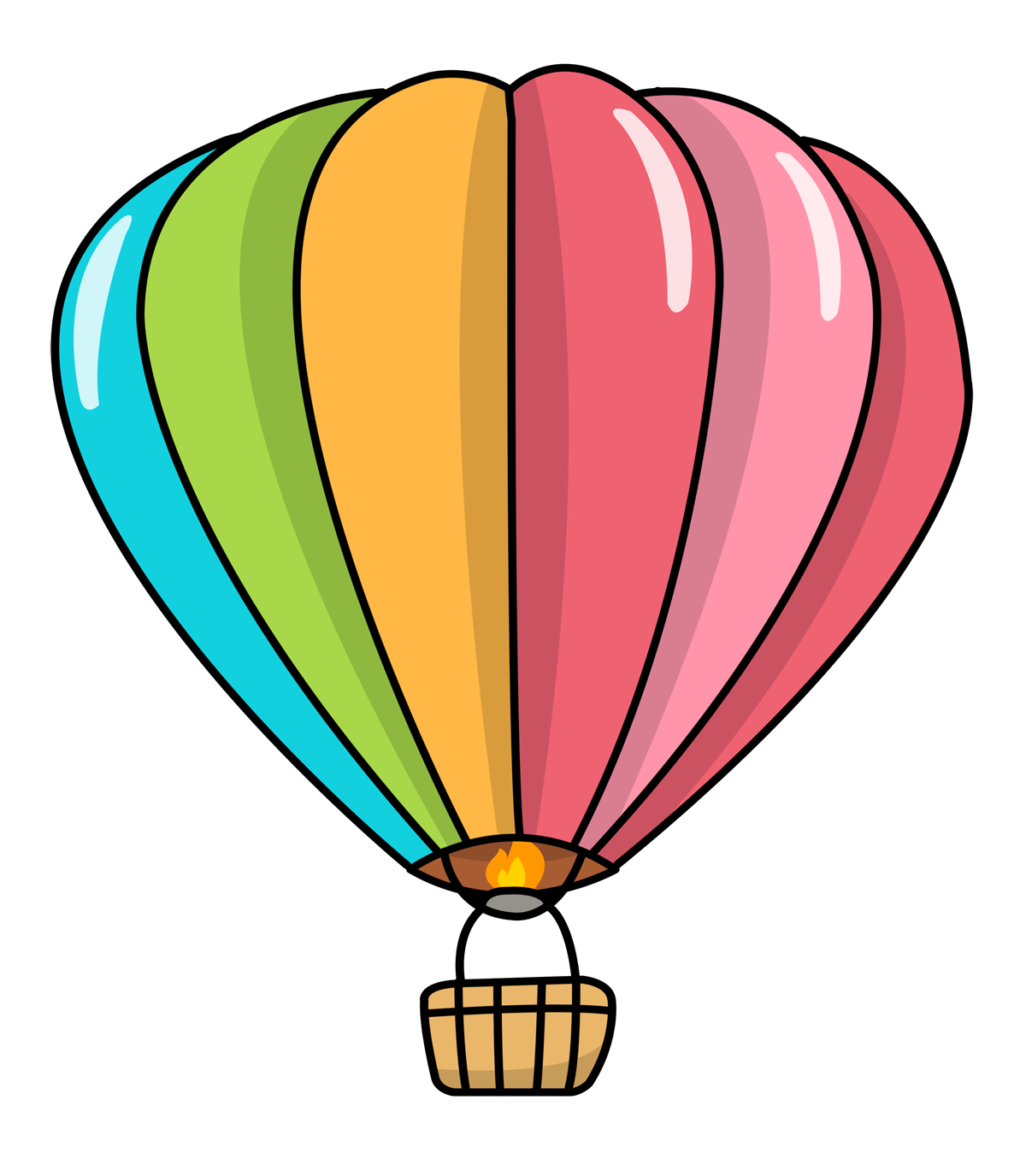 Other clipart colourful balloon. Free cartoon images download