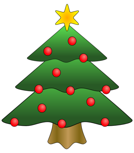 Fire clipart christmas tree. Simple life of a