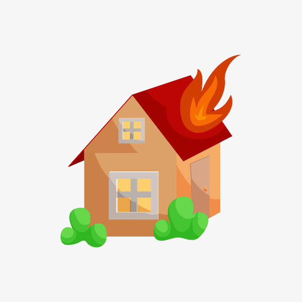 Fire clipart house fire. To catch png image