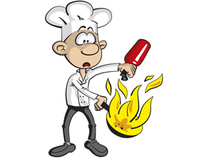 Fire clipart kitchen fire. It is important to