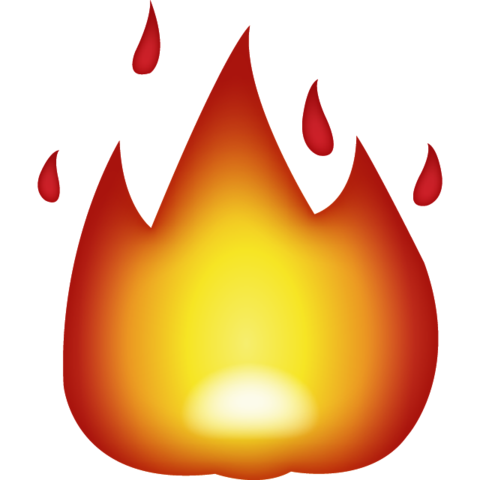 Emoji png fire. Download icon