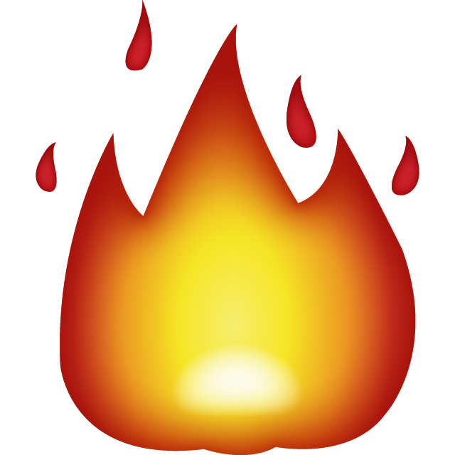 Fire s png. Download emoji icon island