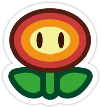 Mario flower png. Fire super wiki the