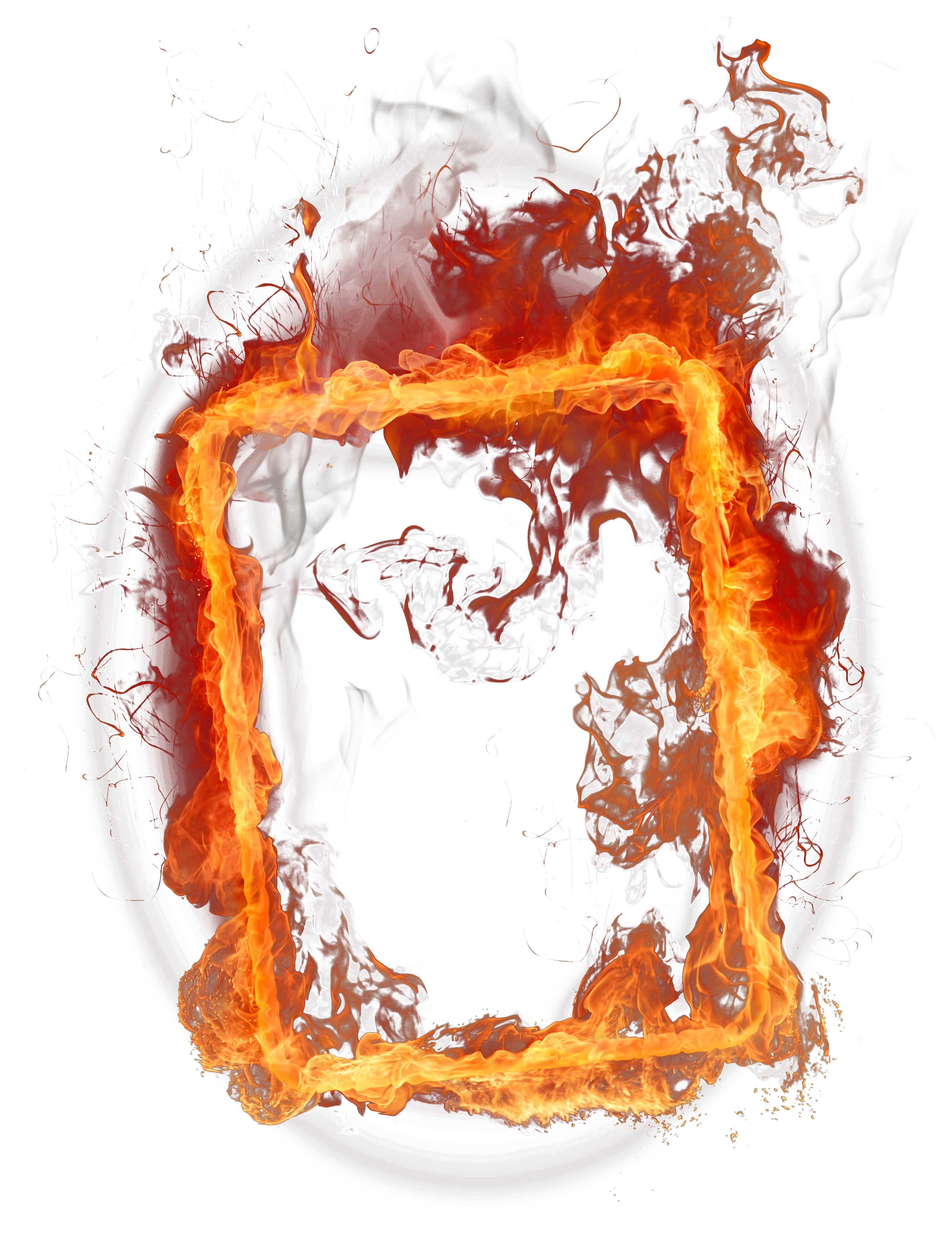 Fire frame png. Clipart gallery yopriceville high