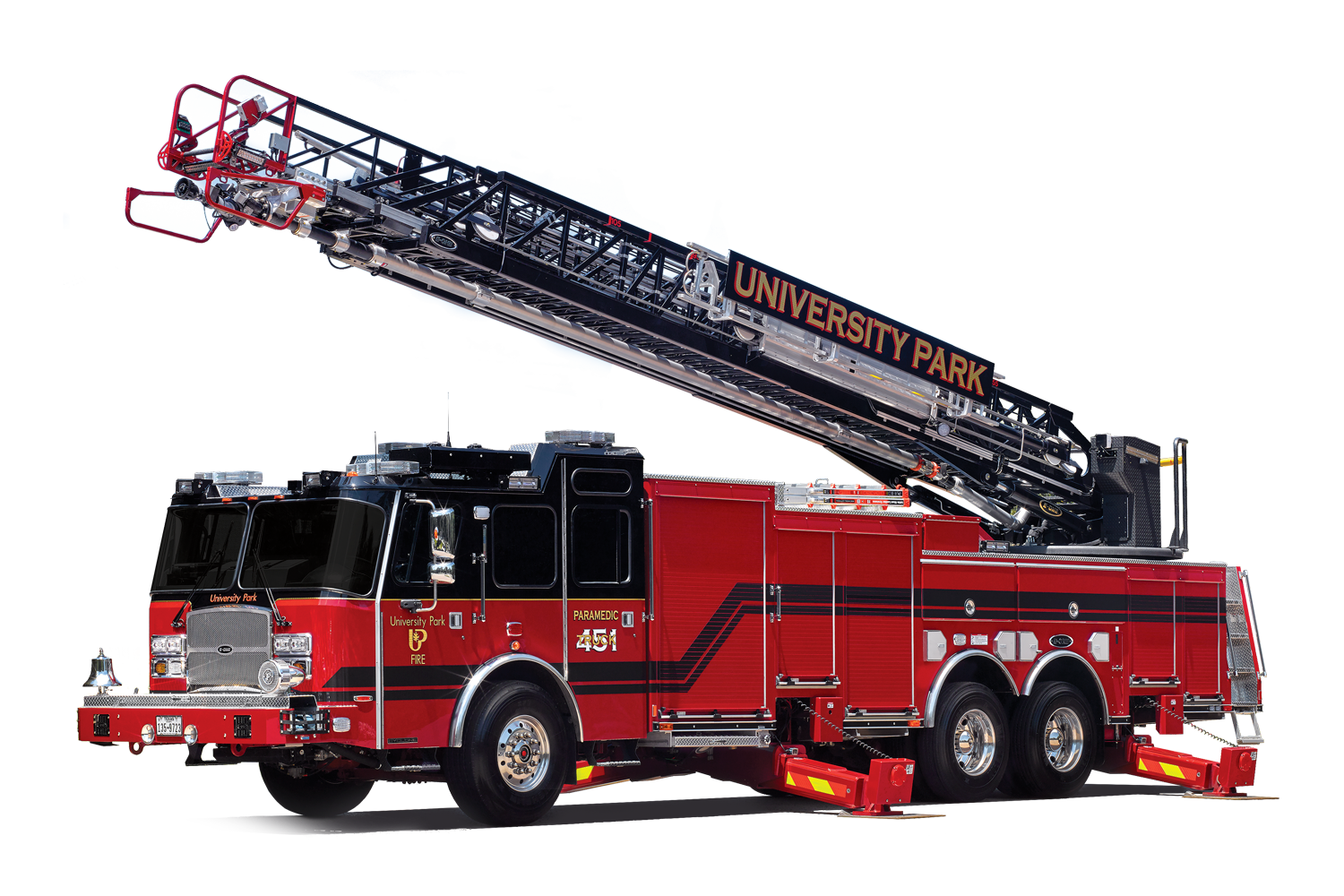 Fire ladder png. E one aerial ladders