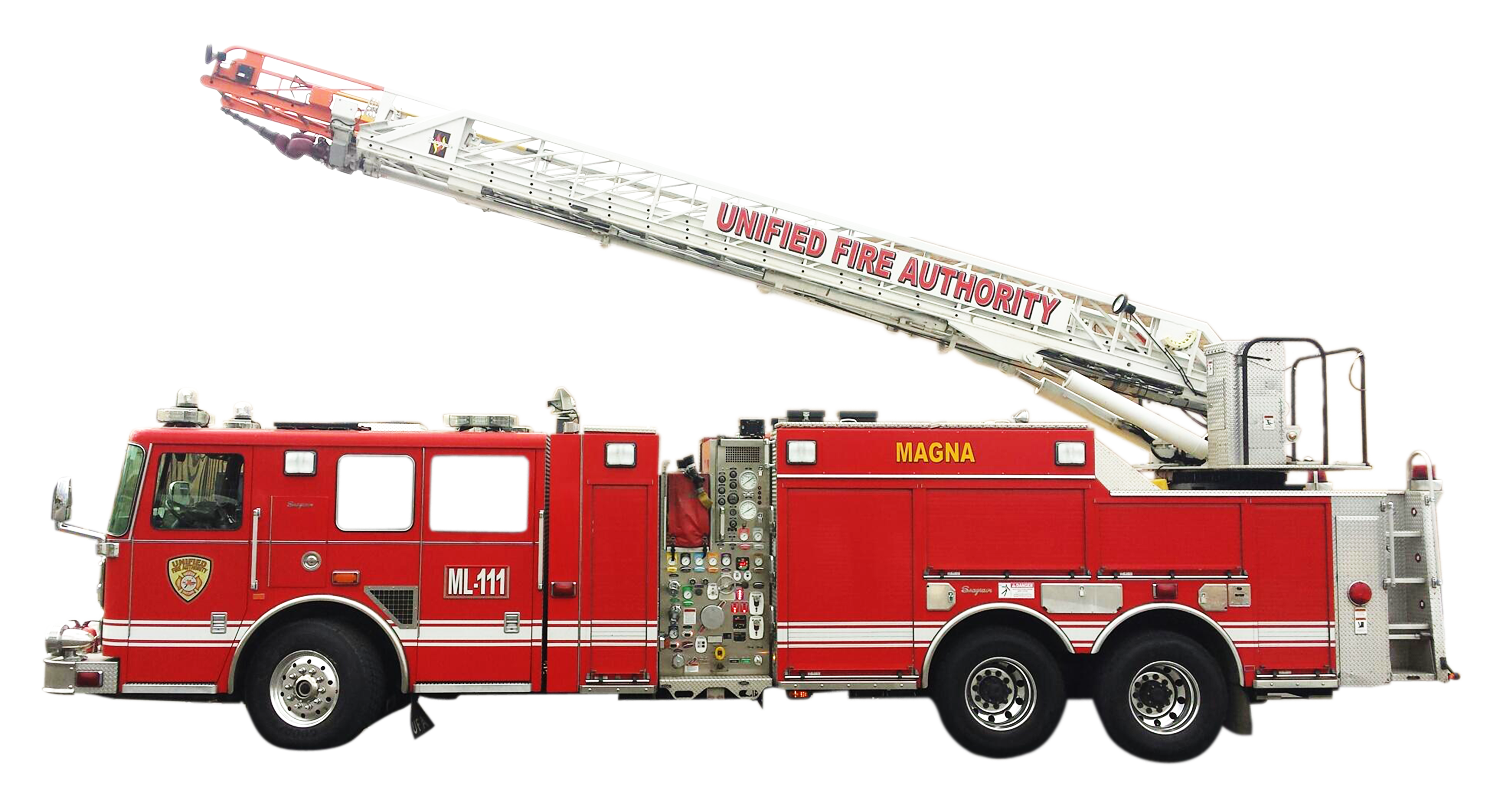 Fire ladder png. Truck image purepng free
