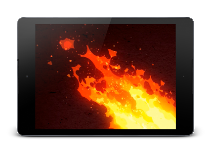 Fire png video. D wallpaper android apps