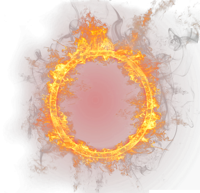 Fire ring png. Circle firecircle firering remixit