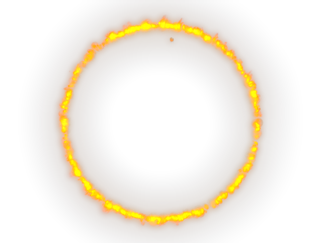 Fire ring png. Used to show that