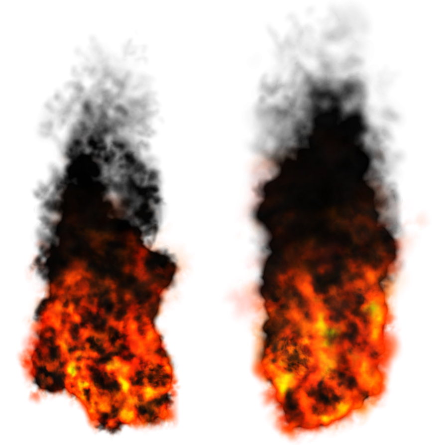 Fire smoke png. Misc elements by dbszabo