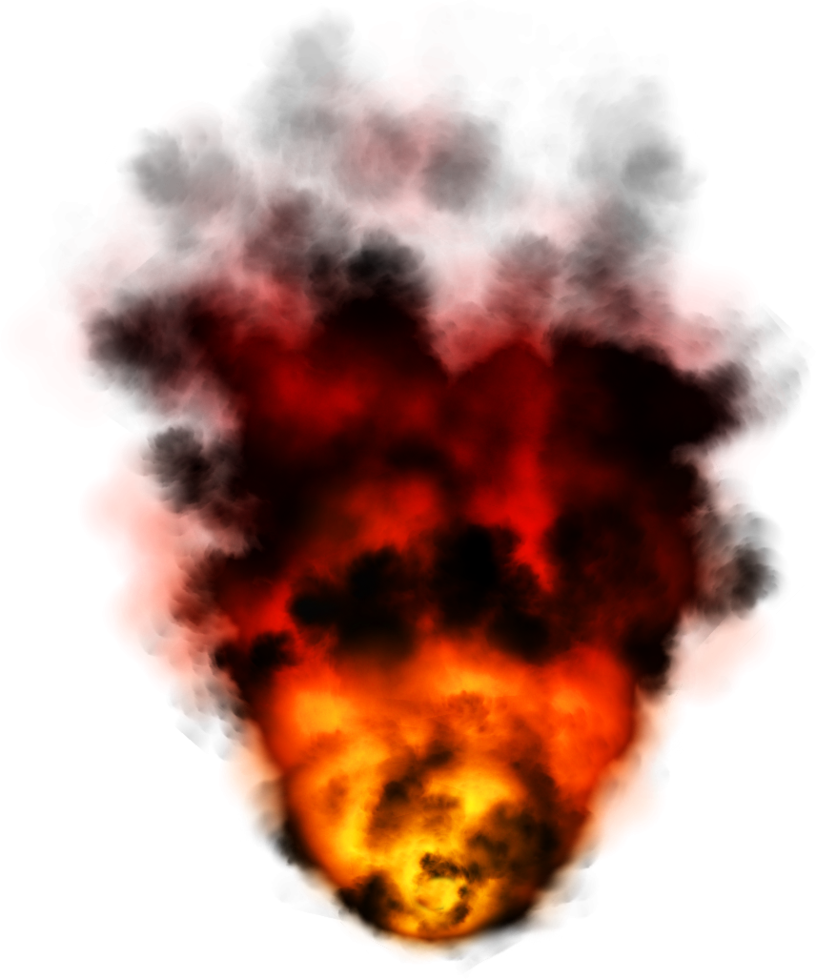 Fire smoke png. Transparent mart