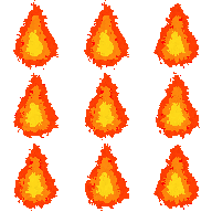 Fire sprite sheet png. Frame animation x