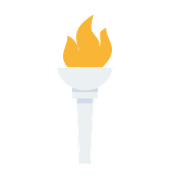 Fire torch png. Free olympic flame light