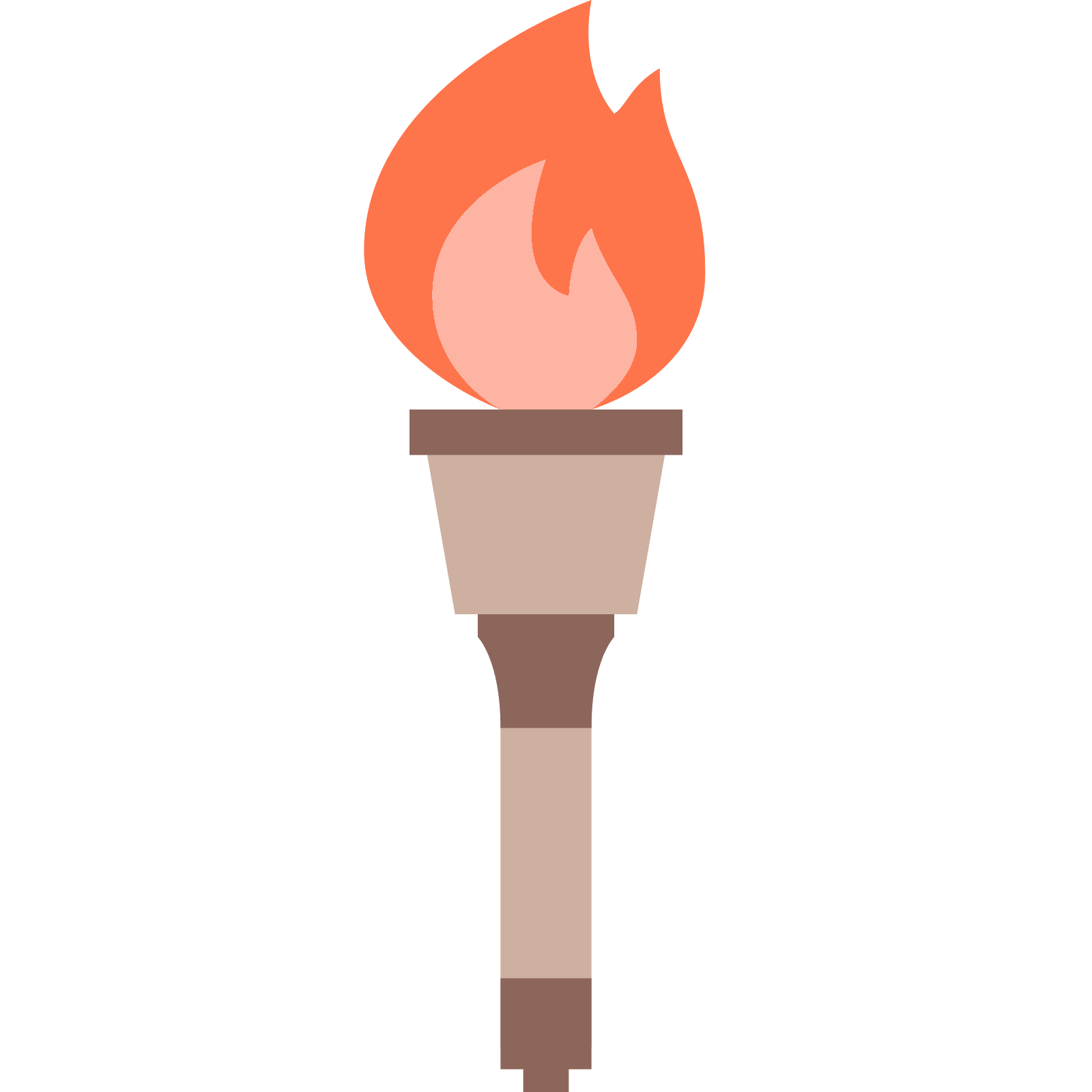 Fire torch png. Olympic icon this logo