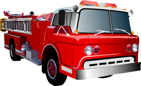 Fire truck clipart png. Engine