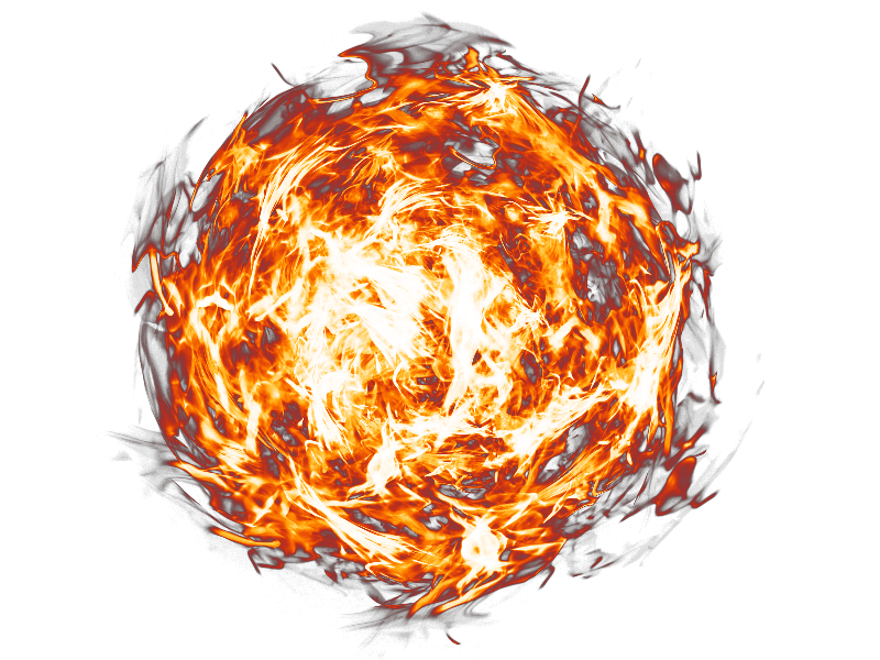 fireball transparent png