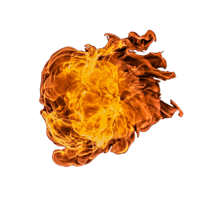 Fireball clipart fire brigade man. Huge ball of png